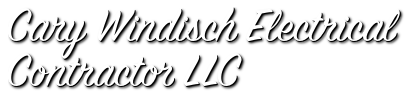 Cary Windisch Electrical Contractor LLC - 24 Hour Electrician - Parlin, NJ logo